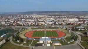 """Stadionul """"Nicolae Dobrin"""", pregătit și pentru condiții meteo nefavorabile"""