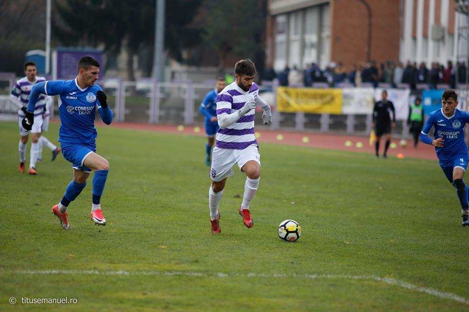 Cătălin Bădăuță, obișnuit cu lista marcatorilor la Politehnica în ultimele sezoane, a deschis drumul și spre ultimul succes din 2017, 2-1 cu Dacia Unirea Brăila, la 2 decembrie.